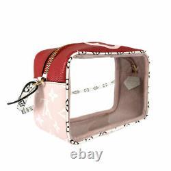Louis Vuitton Monogram Giant Beach Pouch M67601 Rouge Cross Body Bag Du Japon