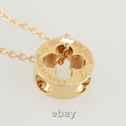 Louis Vuitton Pandan Tifan Platnt Or Rose 18k 750 Collier Du Japon