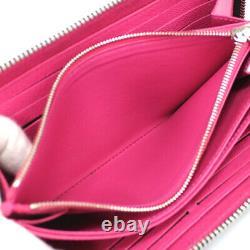 Louis Vuitton Zippy Wallet Epi Leather Noir/hot Rose M64838 #52392 Du Japon