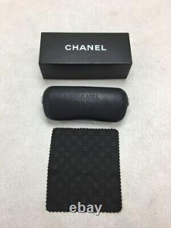 Lunettes De Soleil Chanel Square Metal Rose Argent Accessoire Couleur Du Japon Utilisé