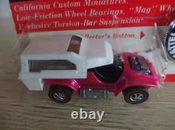 Mattel Redline Hot Wheels Rare Power Pad Hot Pink 1970 Vintage Du Japon