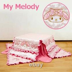 My Melody Japonais Kotatsu Futon Mat Set 68.9 X 68.9 Inch Sanrio From Japan Ems