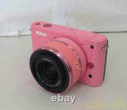 Nikon 1 J1 Rose Avec 10-30mm Kit D'objectif Standard Du Japon