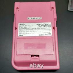Nintendo Game Boy Pocket Bonjour Kitty Console Avec 3 Logiciels Du Japon