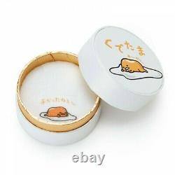 Nouveau Gudetama Lazy Egg Sanrio Collier Pendentif Or Rose Argenté Du Japon F/s