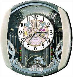Nouveau Seiko Disney Time Automaton Clock Fw563a Wall Clock Type From Japan