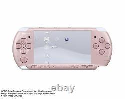 Nouveau Sony Psp Playstation Portable Console Blossom Pink Psp-3000zp Du Japon