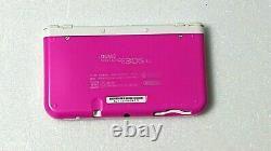 Nouveau Système De Poche Blanc Rose Nintendo 3ds LL Utilisé Du Japon T101