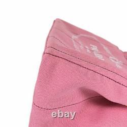 Prada Canapa 2way Épaule 1bg439 Geranioxbianco Pink X Sac Blanc Du Japon
