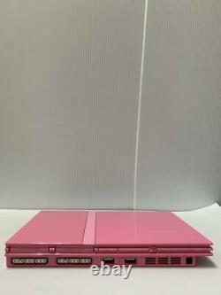 Ps2 Slim Console Scph-77000 Seulement Pour Ntsc-j Pink Playstation 2 Du Japon