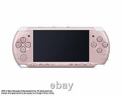 Psp Playstation Portable Blossom Pink Psp-3000zp Du Jeu Japan Sony