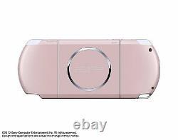 Psp Playstation Portable Blossom Pink Psp-3000zp Du Jeu Japonais Sony