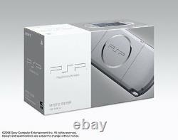Psp Playstation Portable Psp-3000ms Mystic Silver Du Japon Jeu Sony New
