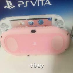 Psvita 2000 Wi-fi Modèle Rose Clair / Blanc Pch-2000 Za19 De Japan