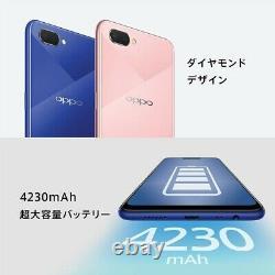 R15 Neo 6.2 Pouces Oppo Smartphone Diamant Rose Sim Gratuit 3gb 64gb 4 6. D'après Le Japon