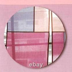 Rideau Japonais De Kyoto Noren Mosaic Rose 100% Coton Bateau Rapide Du Japon Ems
