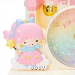Sanrio Little Twin Stars Horloge Avec Tiroir À Poitrine Rose F/s Du Japon Mignon Nouveau