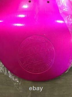 Santa Cruz Skateboard Deck Glitter Pink Size 8.25 X 31.8 Inutilisé Du Japon