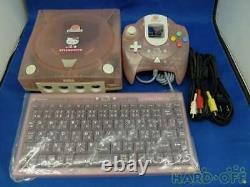 Sega Dreamcast Hello Kitty Pink Console De Jeu Hkt-3000 Travailler À Partir Du Japon Fedex