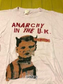 Sexpistols Années 70 Anarchie Vintage T-shirt Du Japon Livraison Gratuite