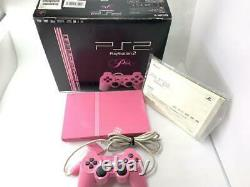 Sony Playstation 2 Slim Edition Limitée Rose Console Scph-77000 Pk Du Japon
