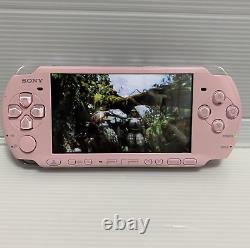 Sony Playstation Portable Psp-3000 Blossom Pink Console De Jeu De Japan Courier