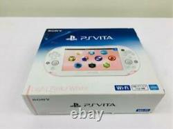 Sony Playstation Ps Vita Slim Blanc Rose Slim Pch-2000 Za19 Du Japon