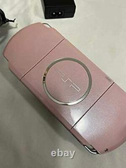 Sony Psp Blossom Rose Psp-3000zp Playstation Console Portable Du Japon C