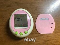 Tamagotchi Plus Color Cream And Pink Green Button Bandai Virtual Pet From Japan
