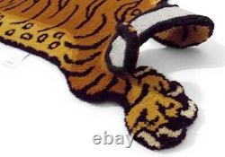 Tibet Tiger Rug Dttr-02 M Taille W75xd130xh1.8cm Pink Nouveau Du Japon F/s Fedex