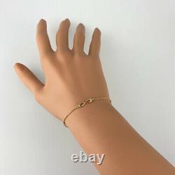 Tiffany&co. Infinity 18k Or Rose (750) Bracelet Nettoyé Du Japon