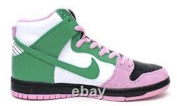 Tout Nouveau' Nike Sb High Pro Prm Invert Celtics Taille 9 Cu7349-001 Du Japon
