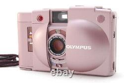 Ultra Rare ! À Proximité De Mint Olympus Xa2 Pink Point & Shoot Film Camera From Japan
