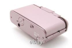 Ultra Rare! Près De Mint Olympus Xa2 Pink Point Et Caméra De Film De Tir Du Japon