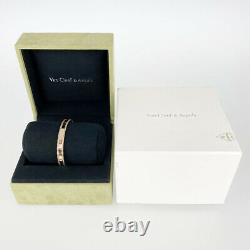 Van Cleef & Arpels Perle Senior Tulle Or Rose 18k (750) Bracelet Du Japon