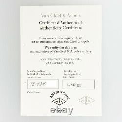 Van Cleef & Arpels Sweet Alhambra Or Rose 18k (750) Bracelet Du Japon